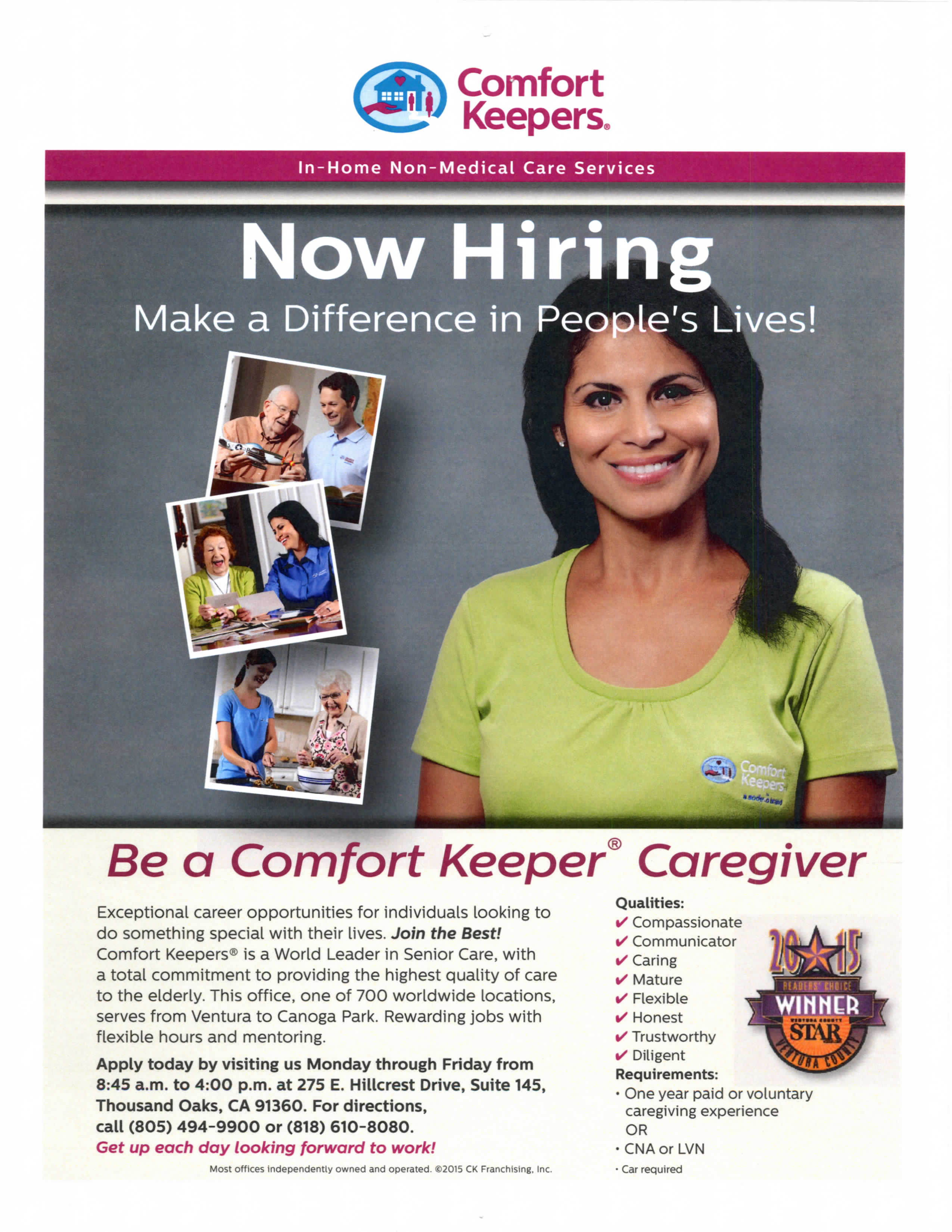 Comfort Keepers Caregivers